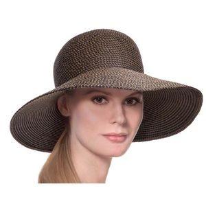 """ERIC JAVITS Squishee """"Hampton Hat"""" in Antique"""